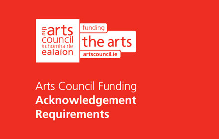 Acknowledging Arts Council Funding